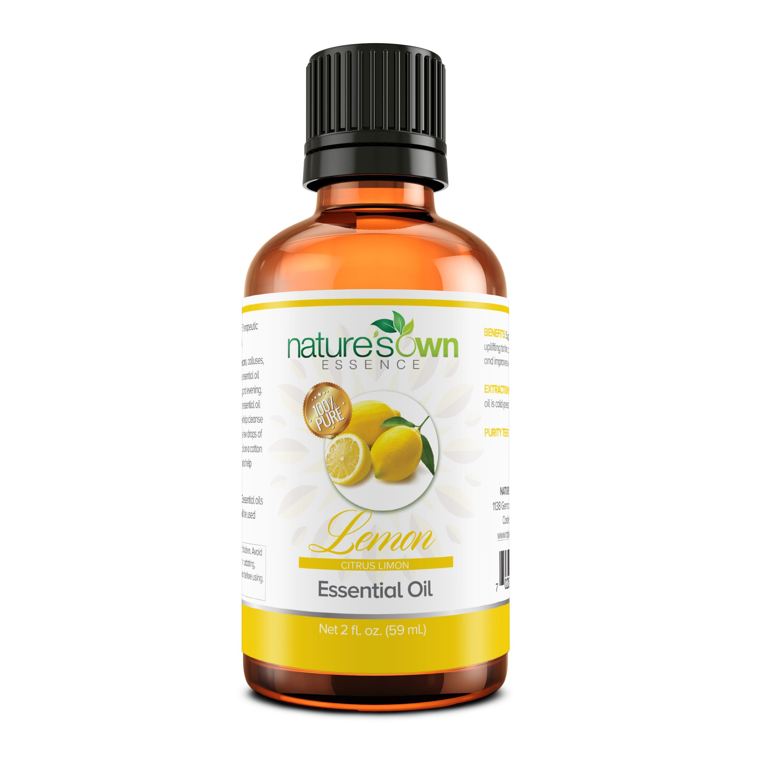 Nature's Own Essence Pure Lemon Essential Oil - Nature's Own Essence