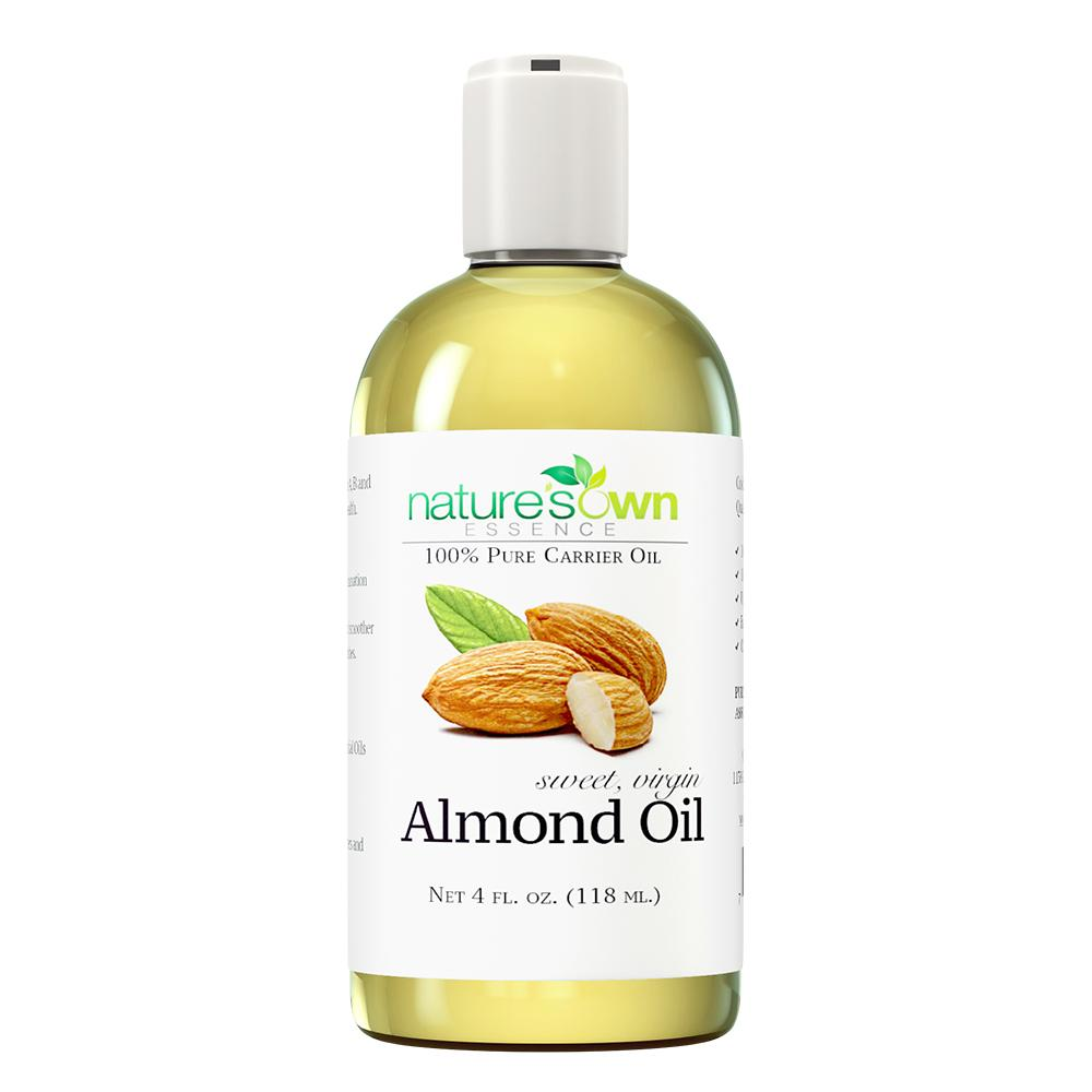 Nature's Own Essence Pure Sweet Virgin Almond Oil - Nature's Own Essence