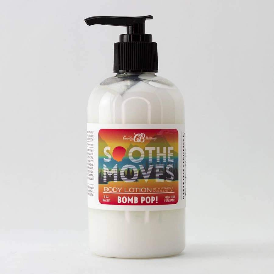 Country Bathhouse Soothe Moves Body Lotion - Bomb Pop! - Nature's Own Essence