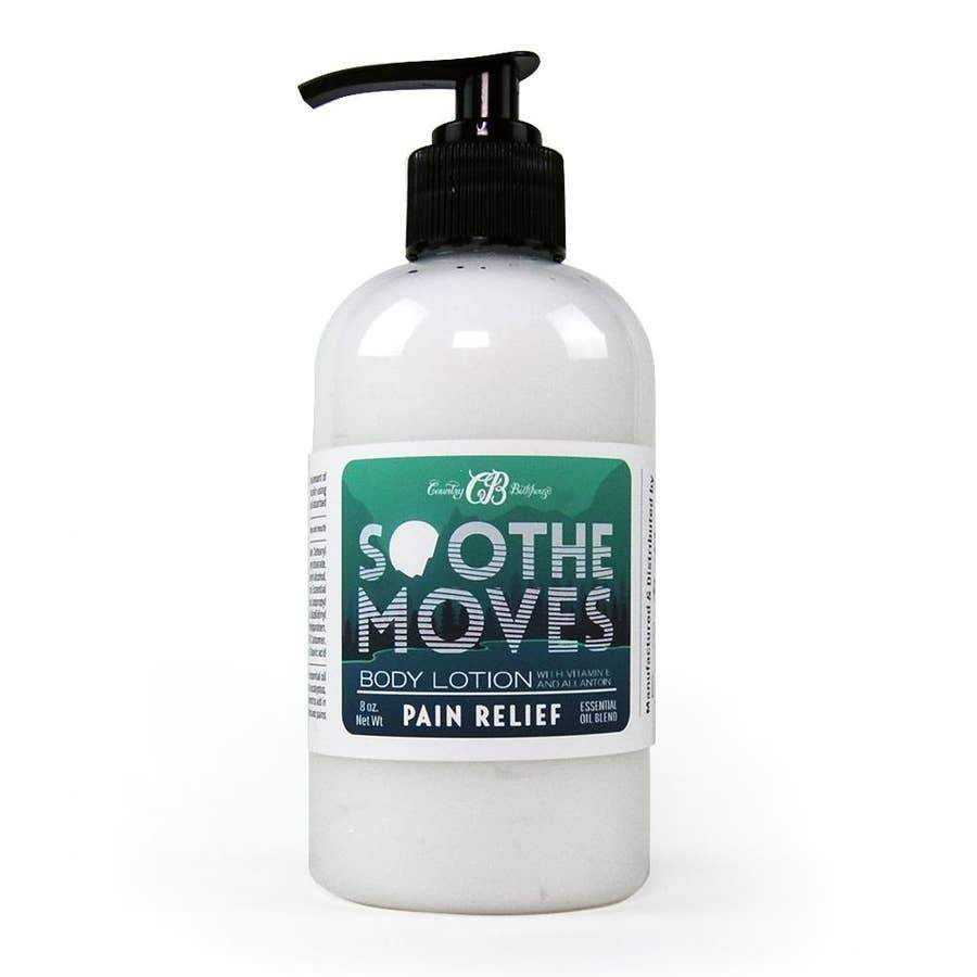 Country Bathhouse Soothe Moves Body Lotion - Pain Relief - Nature's Own Essence