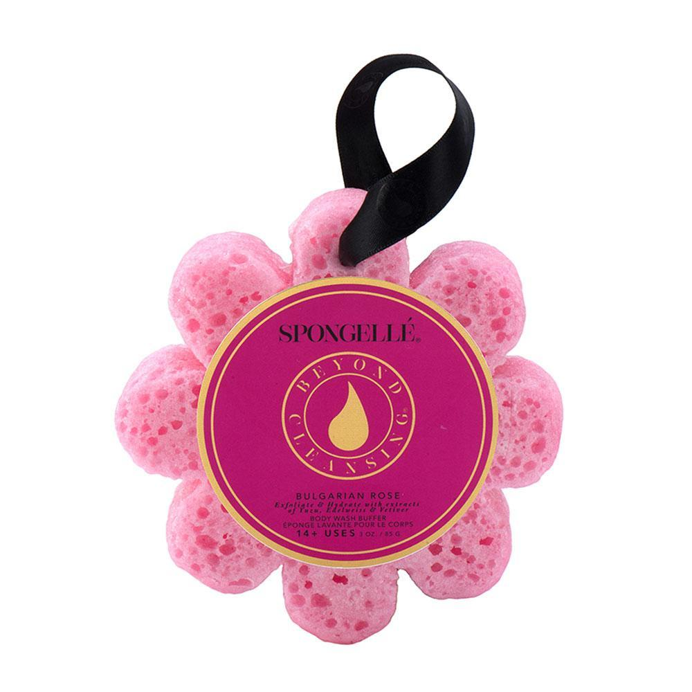 Spongellé Spongellé Bulgarian Rose Wild Flower Bath Sponge - Nature's Own Essence