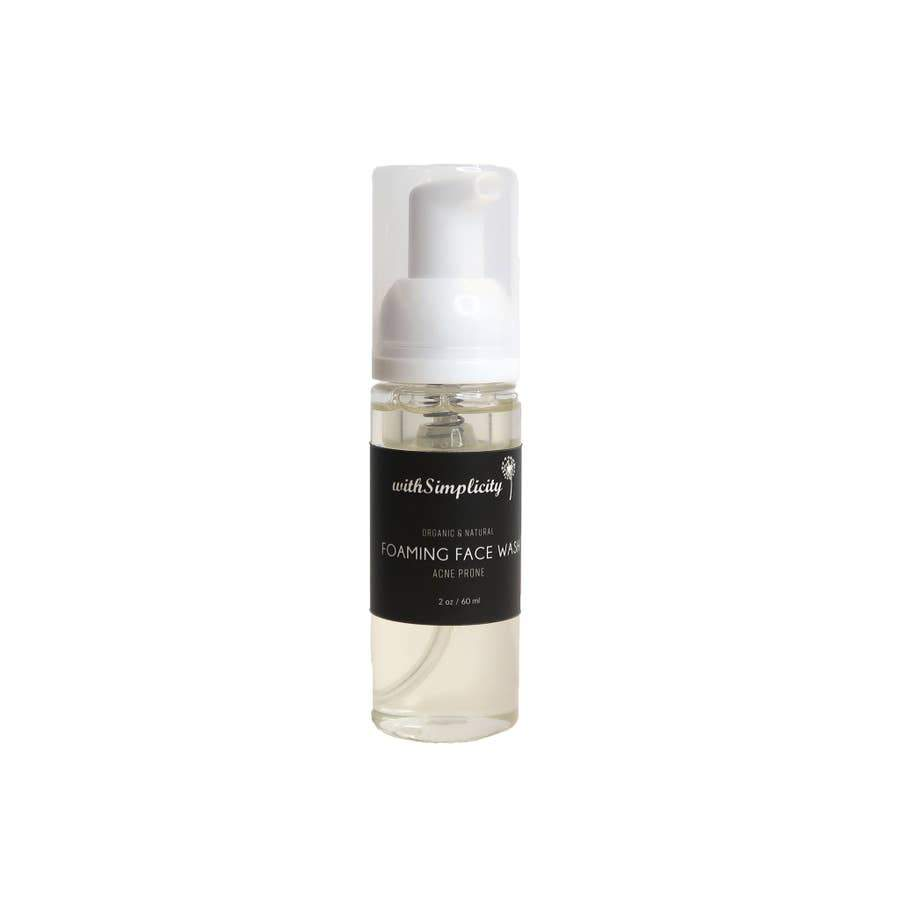 withSimplicity Beauty withSimplicity Beauty Travel Size Foaming Face Wash - Nature's Own Essence