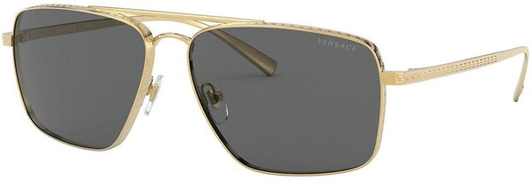 Versace 2216 Gold/Dark Grey