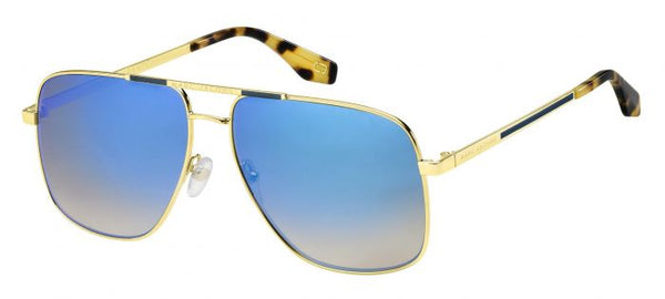 Marc Jacobs 387S Gold/Blue Mirror