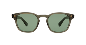 Garrett Leight Ace Black Glass/Green 47