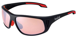 Bolle Rainier Shiny Black Phantom Dark Rose