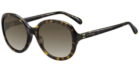 Givenchy 7124S Havana/Brown Gradient
