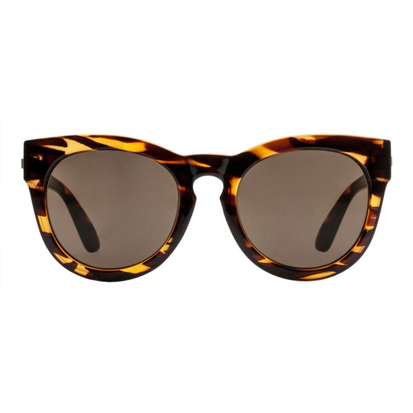 Le Specs Jealous Games Streaky Tort/Brown Mono