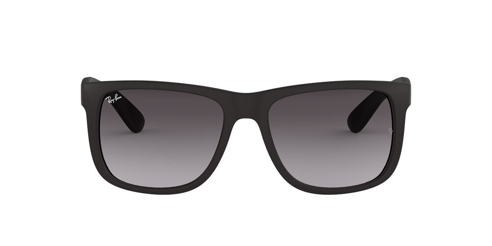 Ray Ban 4165 Justin Black Rubber/Grey Gradient