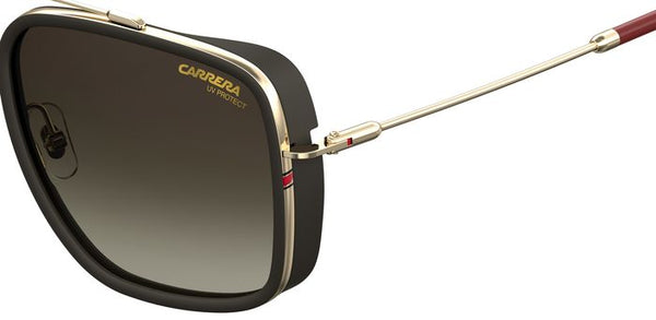 Carrera 207/S AU2 Matte Black/Gold/Brown Gradient