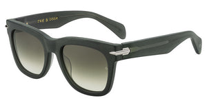 Rag & Bone 5006S Matte Black/Grey Gradient Polar