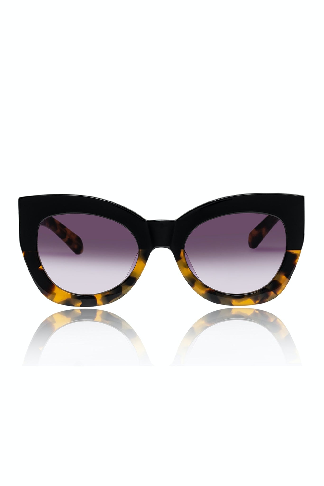 Karen Walker Northern Lights Black/Crazy Tort