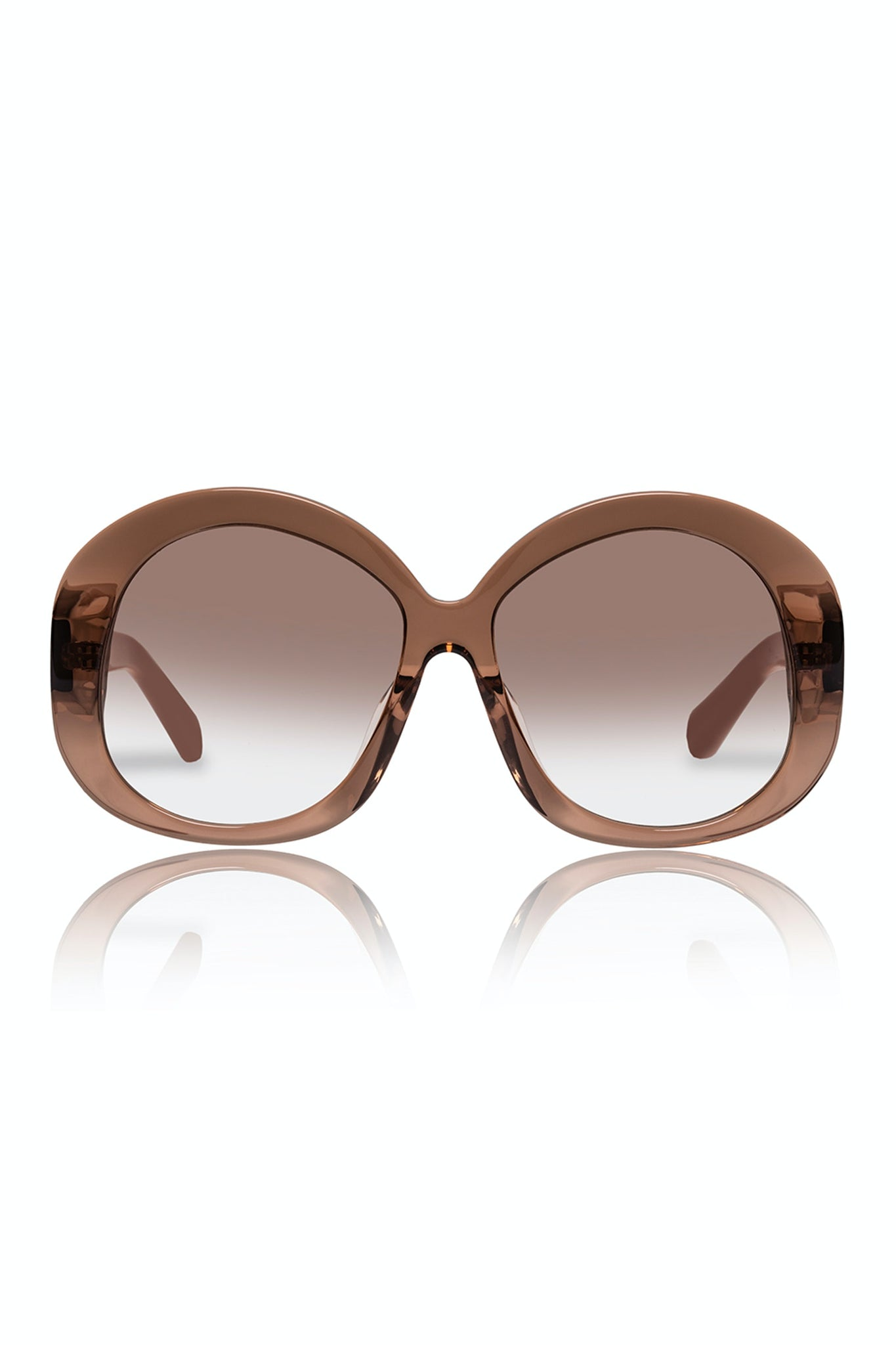 Karen Walker Supersonic Tan Putty/Tan Gradient