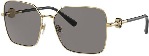 Versace 2227 Gold W/ Dark Grey Polar