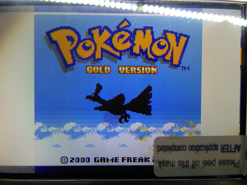 GBC backlight conversion ribbon cable