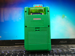 Green Custom Game Boy DMG & ElCheapoSD V1.90 Flash Cart.