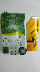 GBC-101 modded motherboard and solderless ribbon cable