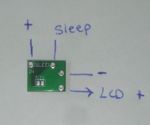 Backlit SP LCD (101) LED driver board - Shipped with tracking