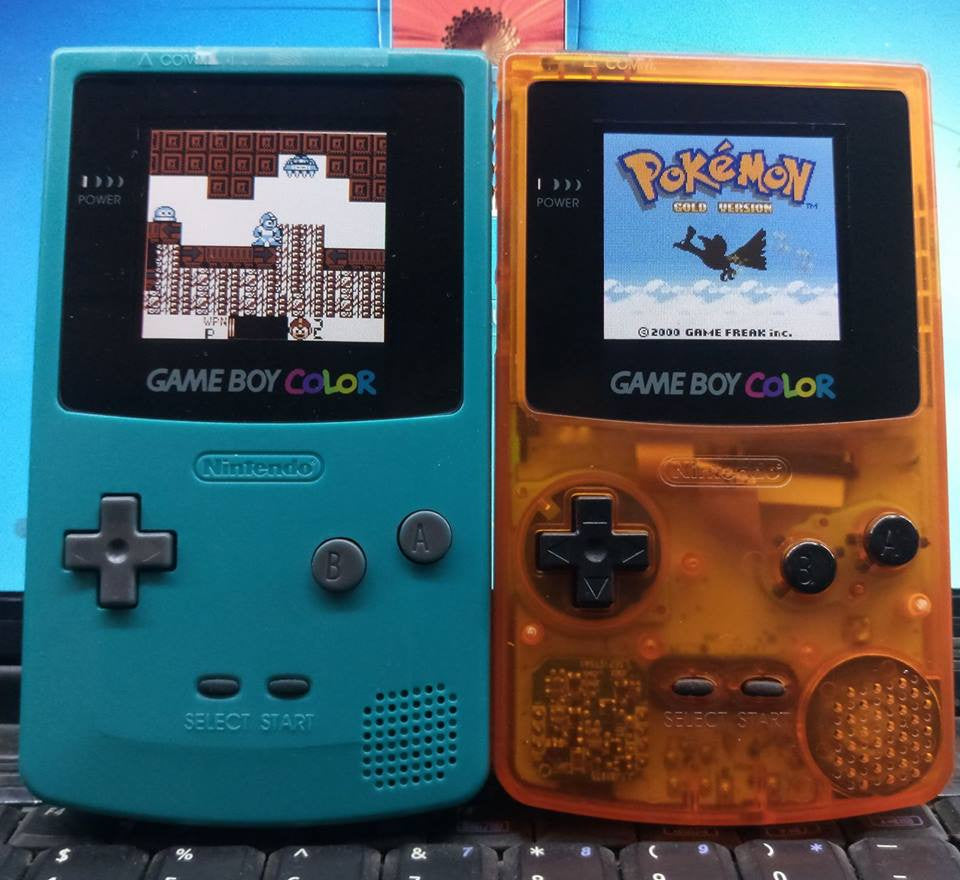 Game boy color - Backlit Gameboy Color Custom Made To Your Request