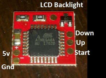 Digital Backlight Brightness Controller for GBC and GBA - 101 LCD's