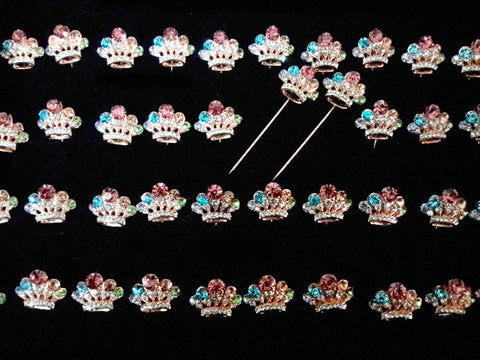 Awesome Cute Crown Hijab Pin   Set Of 1Peice   HJPN 16