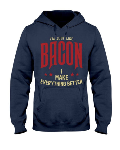 [FUEL] I'm Just Like Bacon Hoodie Apparel Fuel Navy S