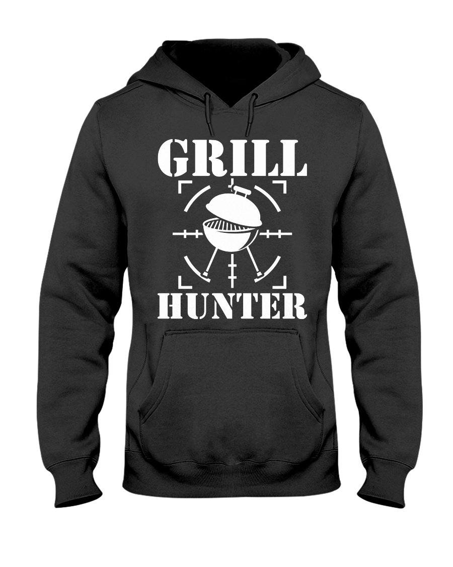 Grill Hunter Apparel Fuel Dark Colored Hoodie Black S