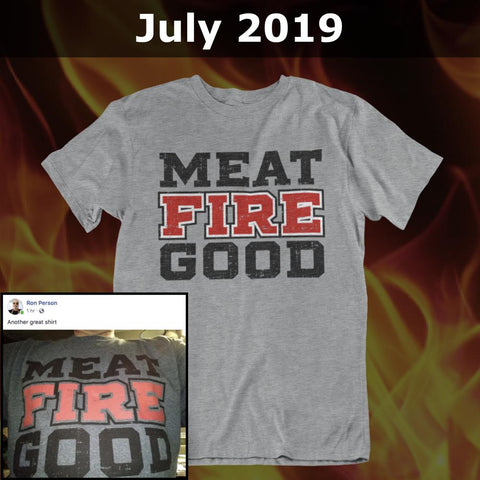 GSA T-Shirt of the Month Club with FREE American Pitmaster T-Shirt Membership GSA
