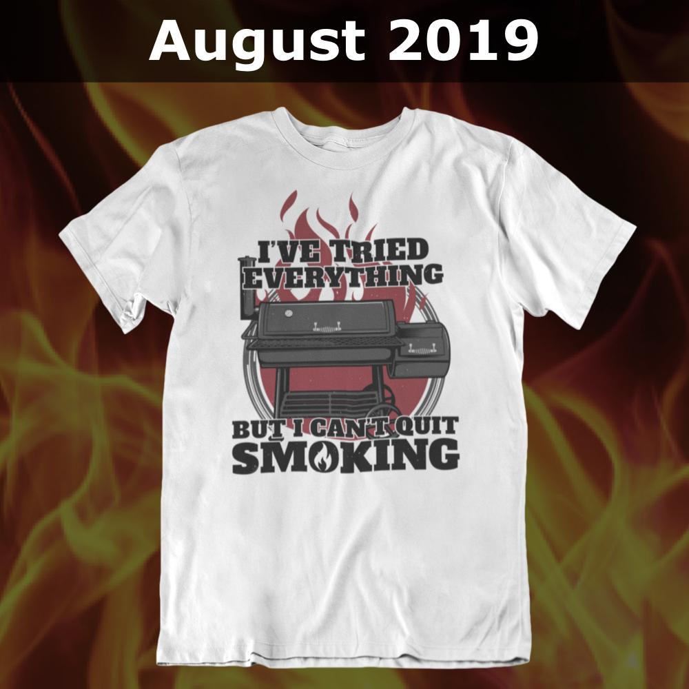 GSA T-Shirt of the Month Club with FREE American Pitmaster T-Shirt (YEARLY) Membership Fuel