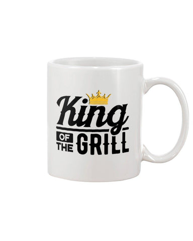 King of the Grill Coffee Mug | Grilling Mug for Dad Mugs Fuel