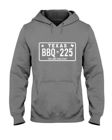 Texas BBQ 225 | Grilling BBQ Hoodie Apparel Fuel Charcoal S
