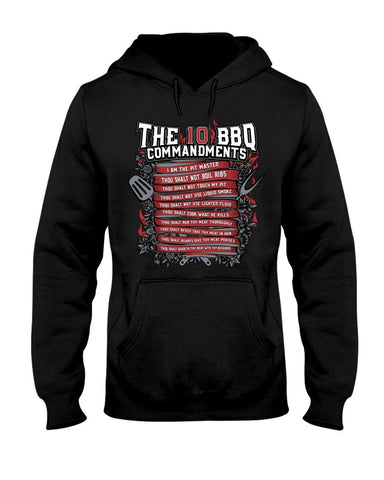 The 10 Commandments of BBQ | Grilling BBQ Hoodie