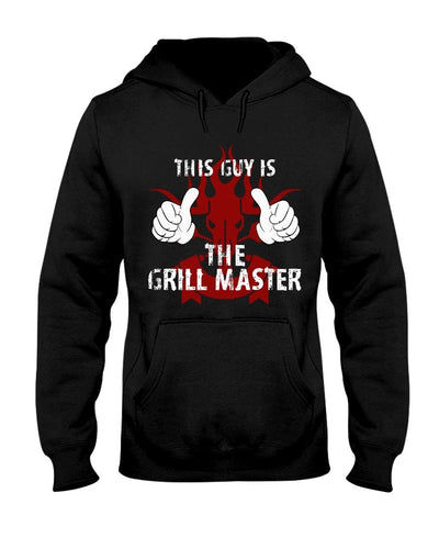 This Guy Is The Grill Master | Grilling BBQ Hoodie Sweatshirts Fuel Black S