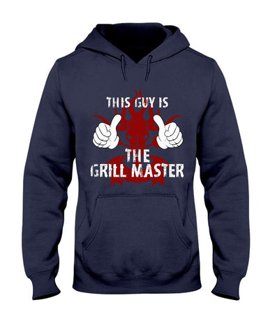 This Guy Is The Grill Master | Grilling BBQ Hoodie Sweatshirts Fuel Navy S