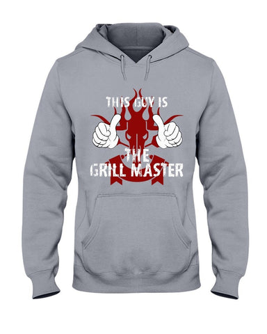 This Guy Is The Grill Master | Grilling BBQ Hoodie Sweatshirts Fuel Sports Grey S