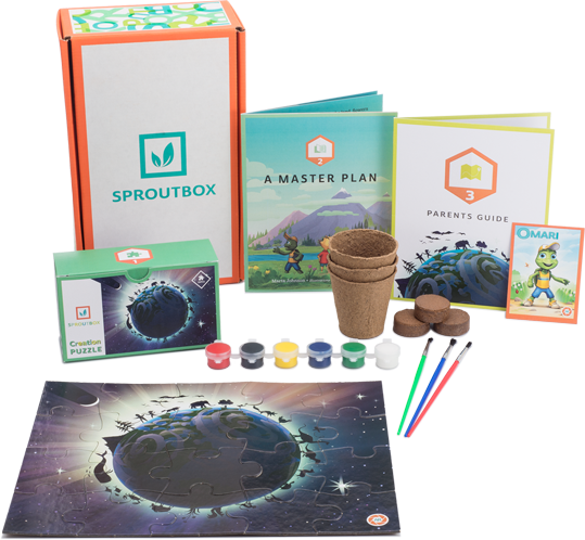 What's in SproutBox Each Month
