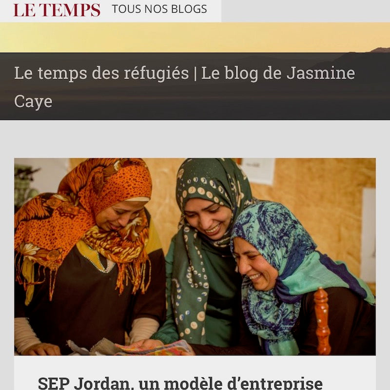 SEP Jordan on Le Temps: a Social Enterprise Model