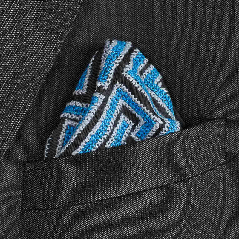Did you know that the pocket squares were born as SEP Artists' exam material?