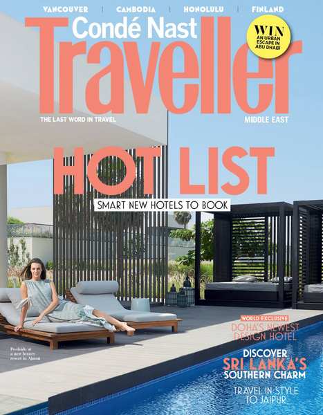 SEP featured in Condè Nast Traveller Magazine