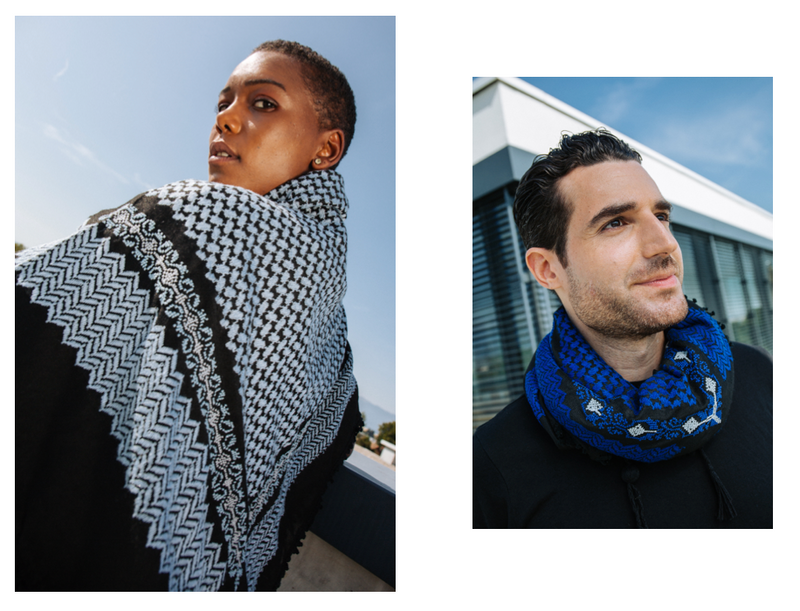 Say hello to our new go-to autumn keffiyeh: The Waseem