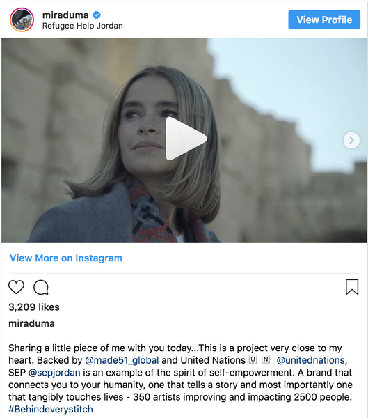 Miroslava Duma, Founder and CEO, Future Tech Lab makes a special trip to Jordan...