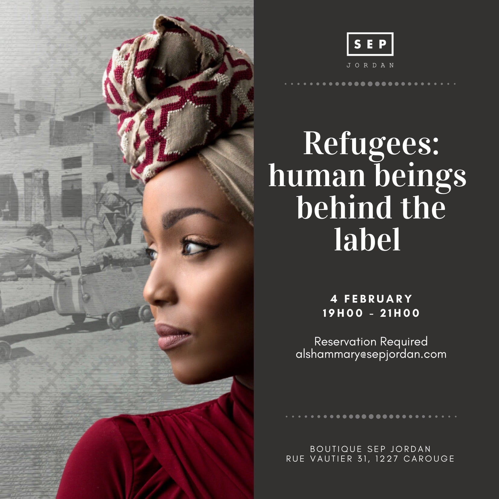 REFUGEES: HUMAN BEINGS BEHIND THE LABEL