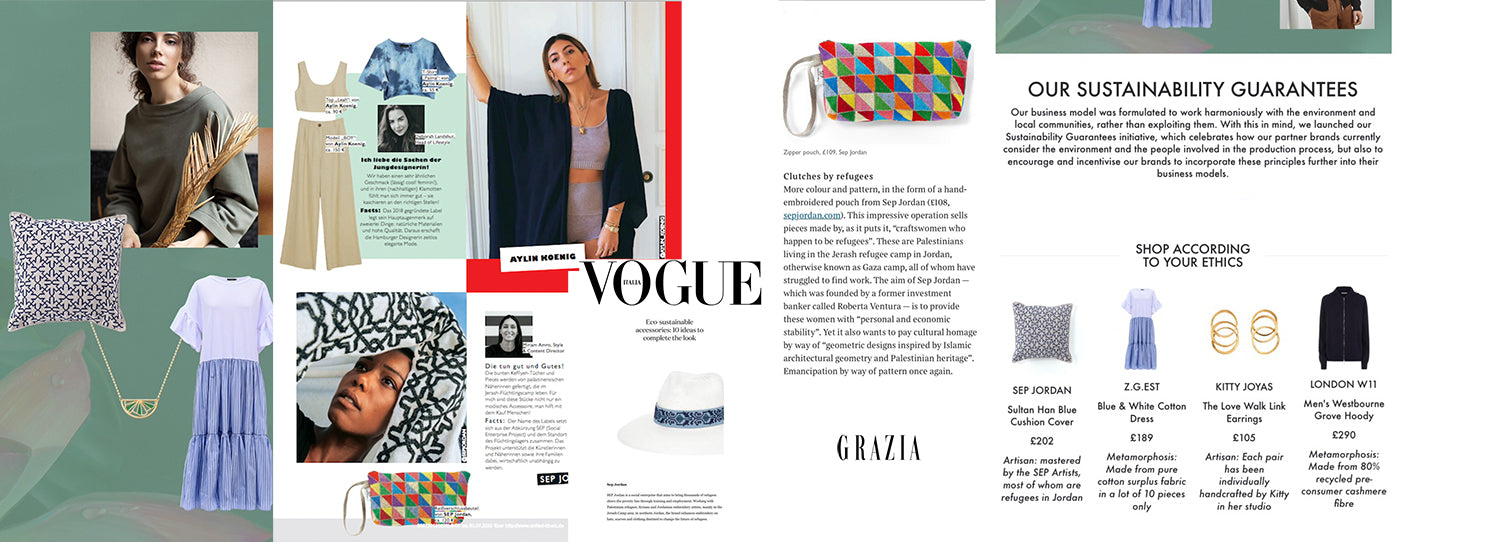SEP in the Press: Vogue, Curio, The Times, The Wellness Feed, Arcadia, Euronews