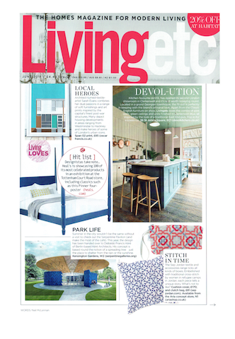 SEP feature on LivingEtc Magazine