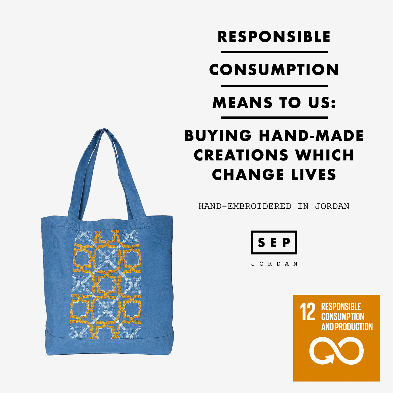 Canvas Bag SDG#12