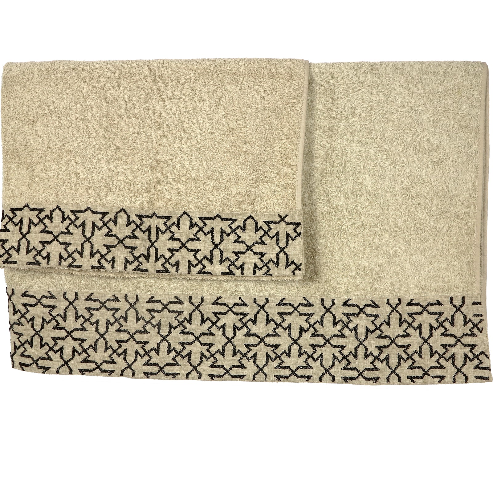Terry Cotton Towel, honey, Sultan Han® pattern