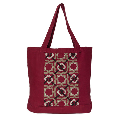 Purple Canvas Bag SDG#10