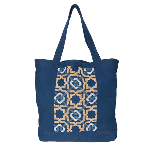 Blue Canvas Bag SDG#12