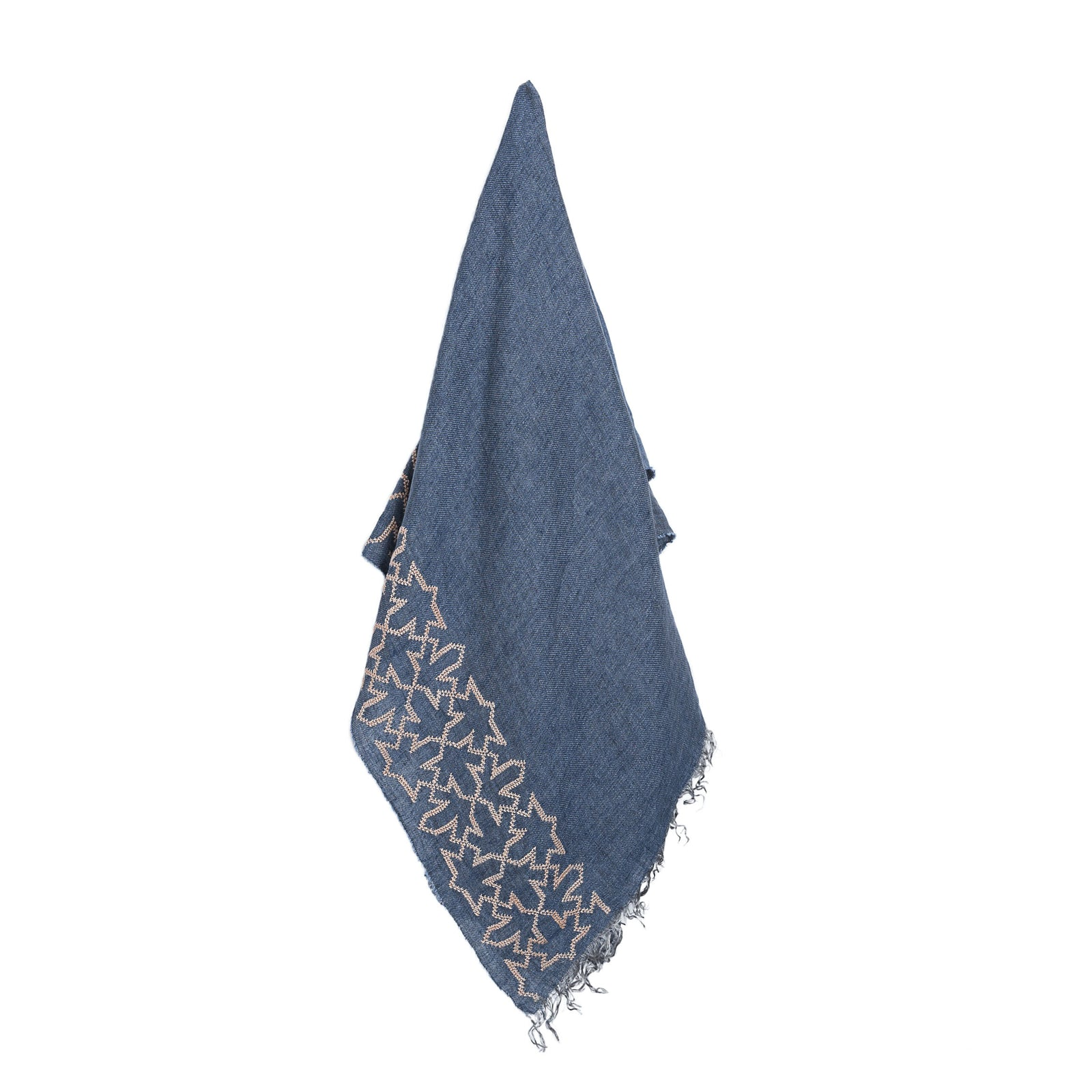 Blue Linen Shawl Sultan Han®