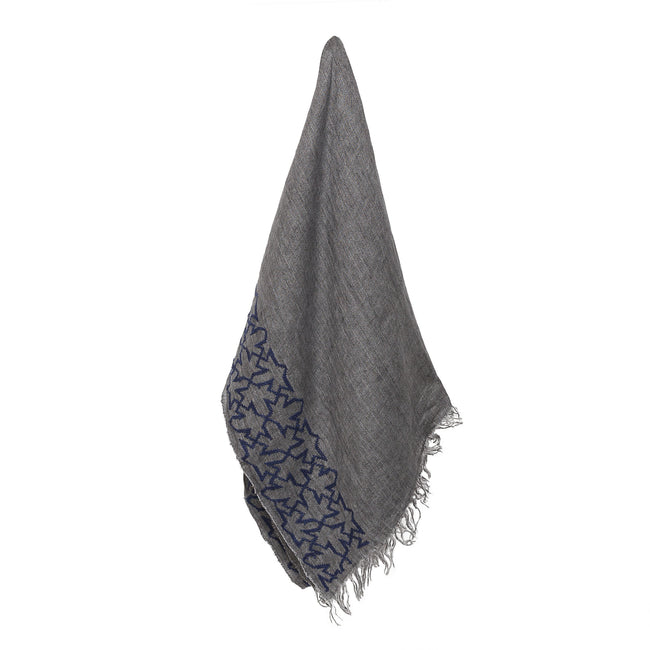 Grey Linen Shawl Sultan Han